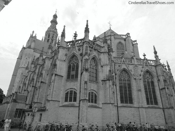 The Gotic catedral Grote Kerk Breda