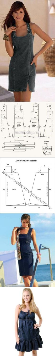 Summerdress pattern.