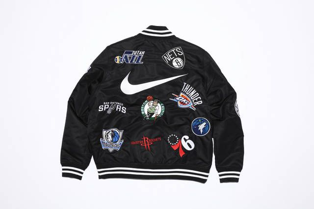 Here's an Entire Look at the Supreme x Nike NBA Collection