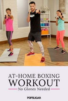 It's time to try out Gigi Hadid's favorite workouts — boxing! This 15-minute at-home workout video will buff up your arms in a new, fun way!