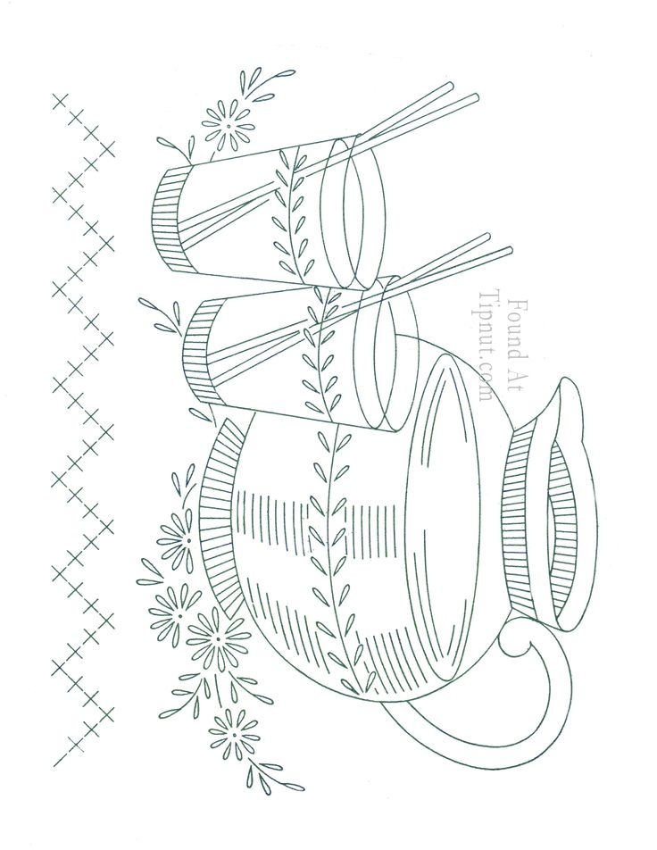 3 - Bakers Gonna Bake Kitchen Redwork Embroidery Designs