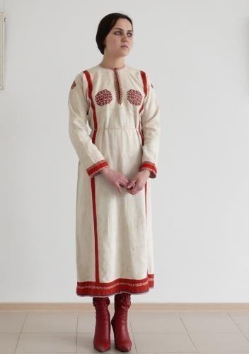 Чувашский народный костюм средненизовых чувашей
