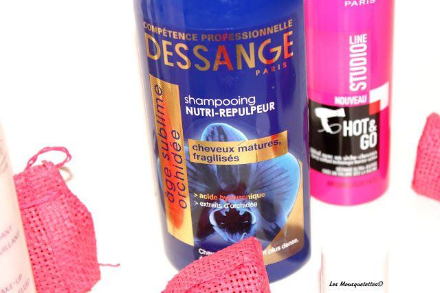 Shampoing Dessange Paris - Blog beauté Les Mousquetettes©