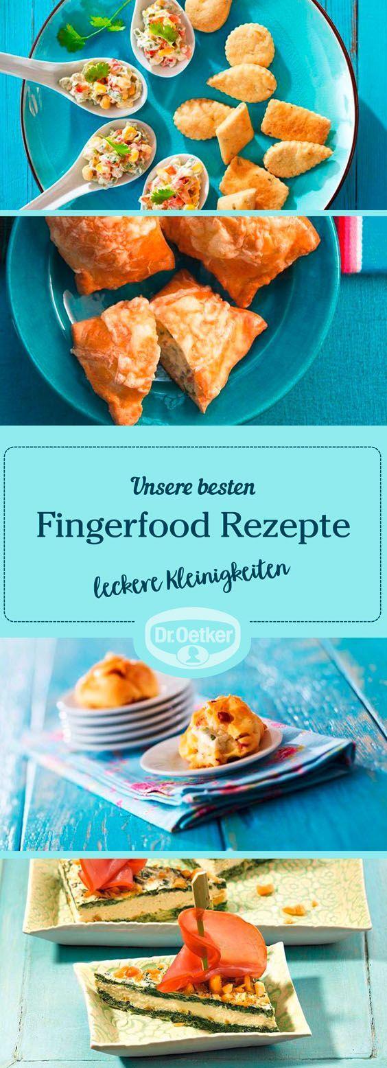 Eine Party, ein Buffet und Fingerfood: Diese drei Komponenten gehören zusammen.