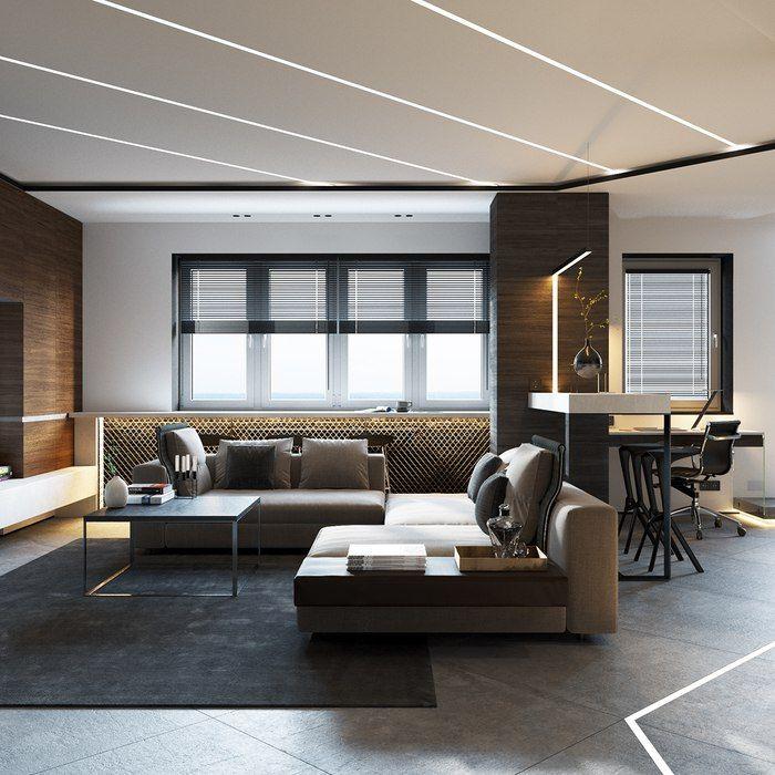Квартира-трансформер 50 м² в стиле минимализм