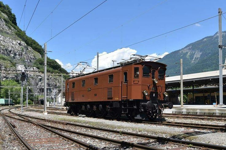 SBB Ae 3/6 III 10264 Location: St.- Maurice Date: 11-06-2017  Copyright: Paolo de Andrea (CH)