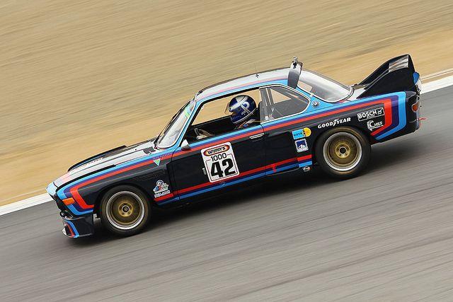1972 BMW CSL by autoidiodyssey, via Flickr
