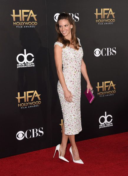 Hilary Swank Photos Photos - Actress Hilary Swank attends the 18th Annual Hollywood Film Awards at The Palladium on November 14, 2014 in Hollywood, California. - 18th Annual Hollywood Film Awards
