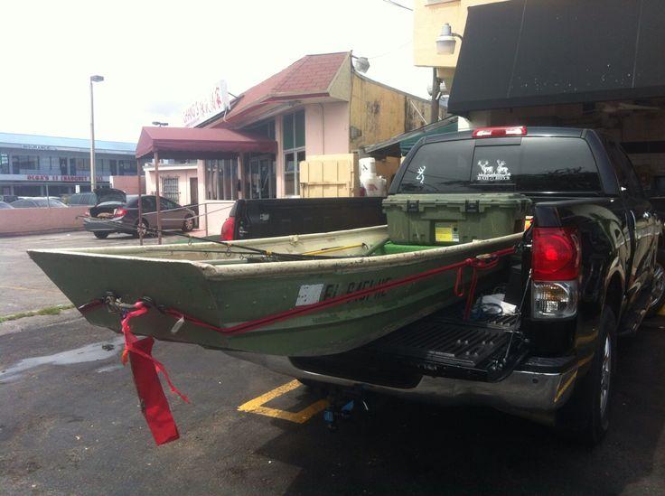 Yea... Johnny is ready ! 12 foot jon boat... Jon boat