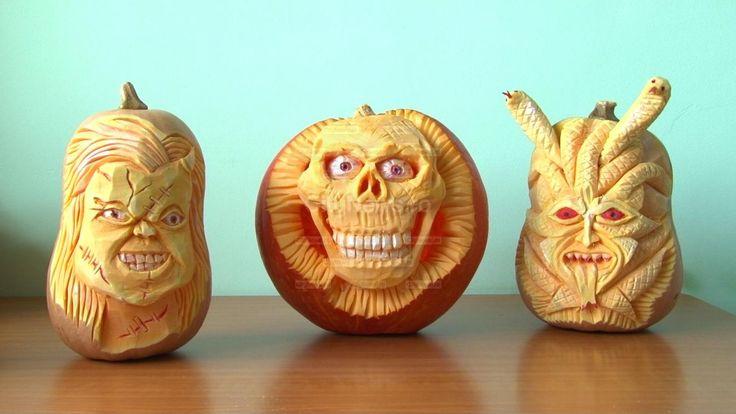 GALERIE FOTO/VIDEO Artă-n dovleac de Halloween în viziunea unui clujean | Citynews Bistrita