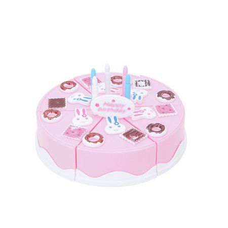 5ab911e0b082 24Pcs Plastic Kitchen Cutting Toy Pretend Play Food Assortment Toy ...