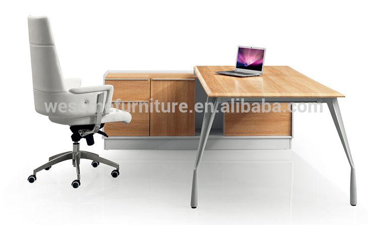 Foshan furniture 2.2M 2M executive table with aluminum table leg
