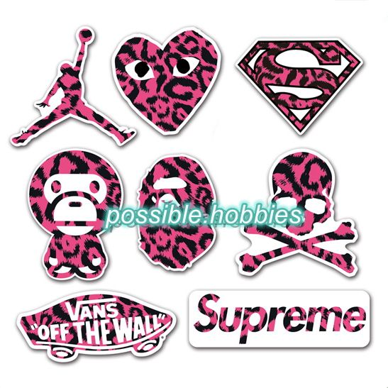 30 Best Images About Skateboard Sticker Lot Pack On