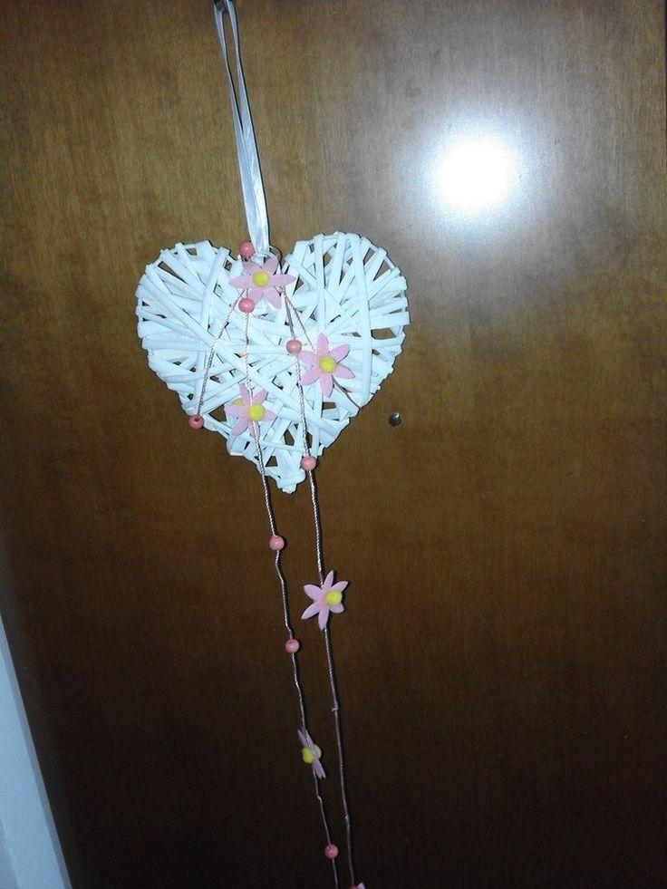 cuore decorazione nascita, by bandullera, 5,00 € su misshobby.com