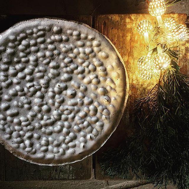 White Christmas Plate <3