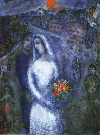 Marc Chagall - Le Couple