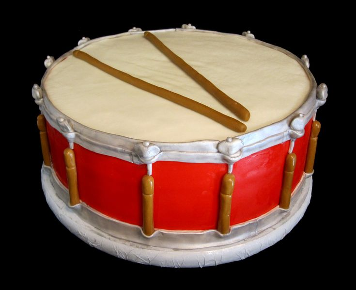 Drum cake ideas.-one year for B's bday