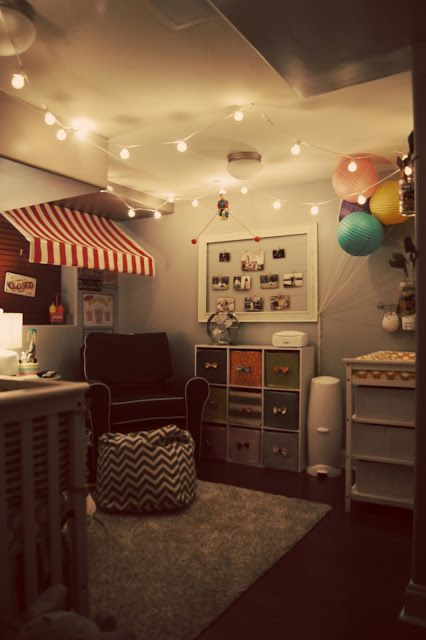 ◦ Pencils, Fabric + Our Cozy Nest ◦: Carnival Nursery