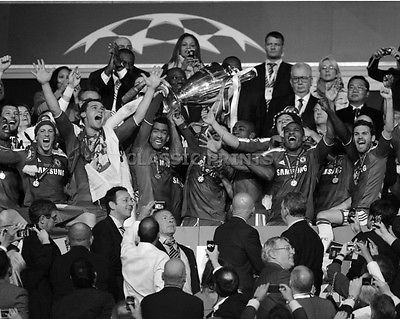 "Chelsea european #champions league winners photo - #black and white 10""x8"" ##3671,  View more on the LINK: 	http://www.zeppy.io/product/gb/2/331825566689/"