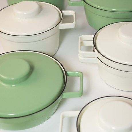 Pots by dottings for RIESS   MONOQI