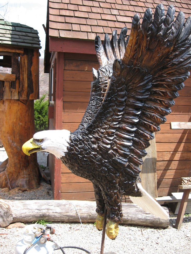 Best unique chainsaw carving art sculptures totems