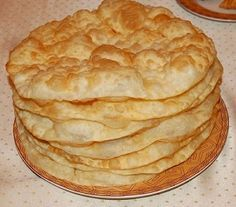 Казахские лепешки Ак-Нан
