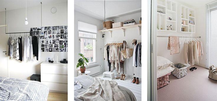 Un vestidor para habitaciones peque as grupo mapesa for Roperos para habitaciones pequenas