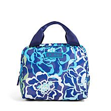 Lighten Up Lunch Cooler Bag in Katalina Blues | Vera Bradley