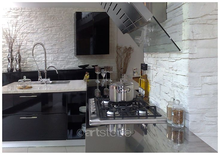 Dise o de cocinas paneles decorativos para tu cocina - Panel pared cocina ...