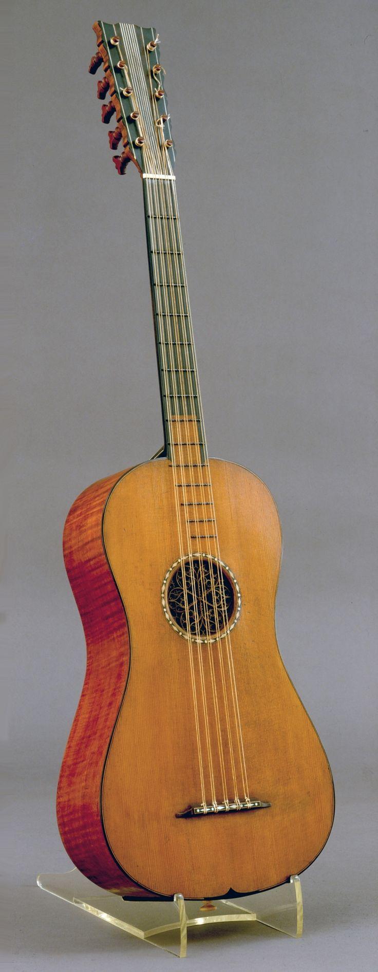 Antonio Stradivari (Italian, 1644–1737) - Guitar, The Rawlins, 1700 - Spruce, maple, ebony - National Music Museum, The University of South Dakota, Vermillion