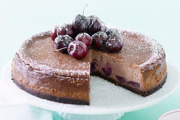 Cheesecake σοκολάτα – κεράσι