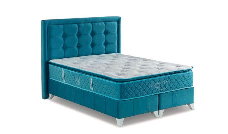 SİLVER YATAK SETİ   Çelik profilli baza başlık http://www.yildizmobilya.com.tr/silver-yatak-seti-baza-baslik-yatak-pmu4225 #latex #visco #yatak #baza #modern #mobilya #bed #bedroom #ortopedi http://www.yildizmobilya.com.tr/
