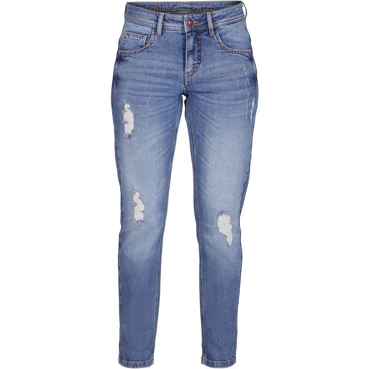 Janet boyfriend jeans Cool boyfriend jeans with destroyed effect. Black Swan Fashion SS17