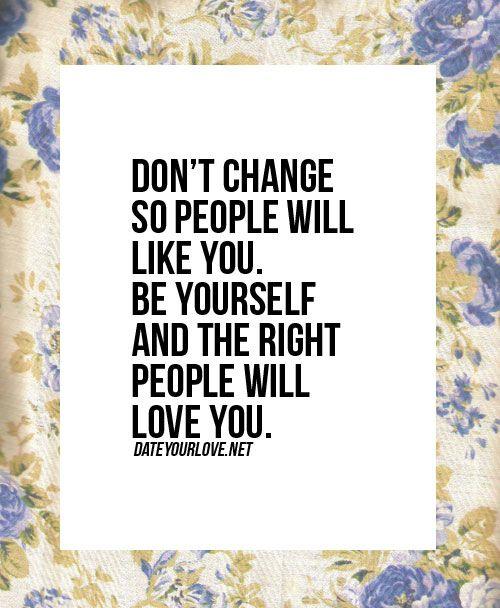 Don't change.