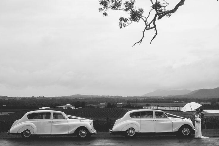 Wet weather wedding photo. Hunter Valley wedding Image: Cavanagh Photography http://cavanaghphotography.com.au