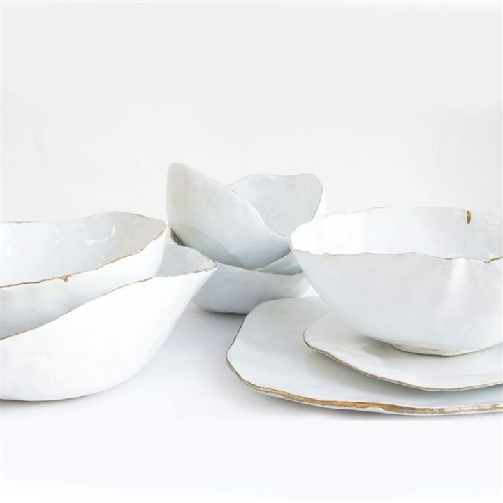 Inspired by: Hand Touched Ceramics / View on The LANE / Wedding Style Inspiration