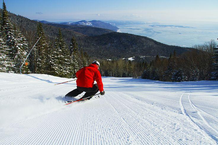 Le Massif de Charlevoix #SommetsStLaurenthttp://www.sommetsdusaint-laurent.com Summits Ski // Ski Québec