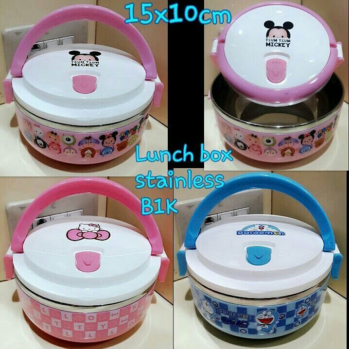 #lunchbox stainless #doraemon, #hellokitty & #tsumtsum @ 75.000
