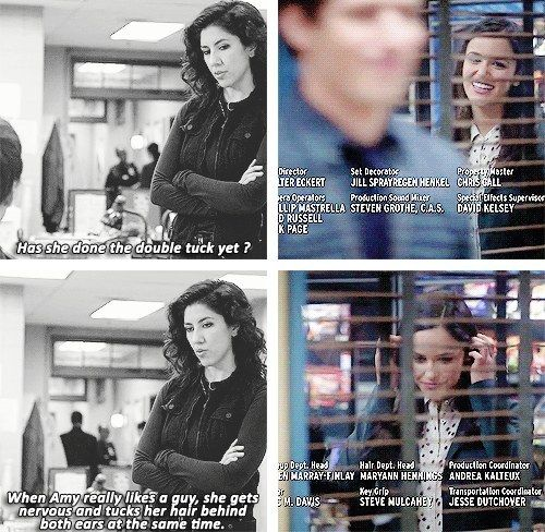 In honor of Jake and Amy finally getting together in the season three premiere of Brooklyn Nine Nine, let's take a look at some of their cutest and most adorable moments...