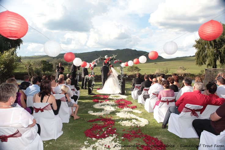 Farm weddings and corporate functions at Elandskloof Trout Farm. http://www.accommodation-in-southafrica.co.za/Mpumalanga/Dullstroom/ElandskloofTroutFarm.aspx