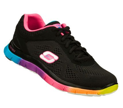 SKECHERS Women's Flex Appeal - Style Icon Training Shoes with Memory Foam insole