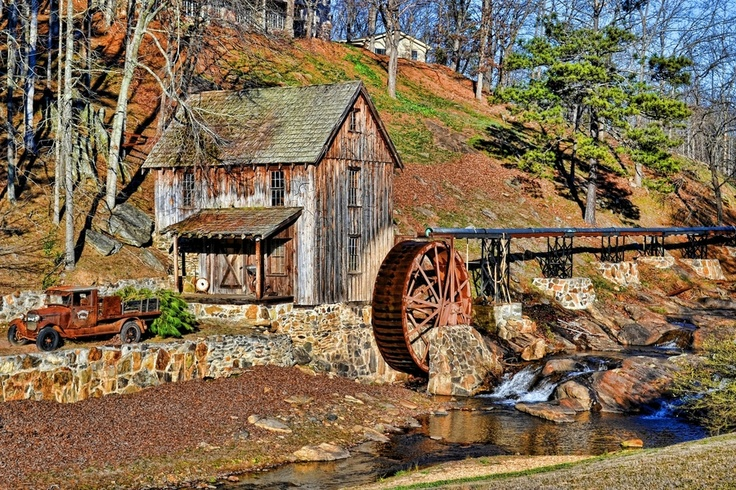 old watermill in canton, georgia Things I love about Canton GA Sandra Watkins http://www.sandrawatkins.remax-georgia.com/