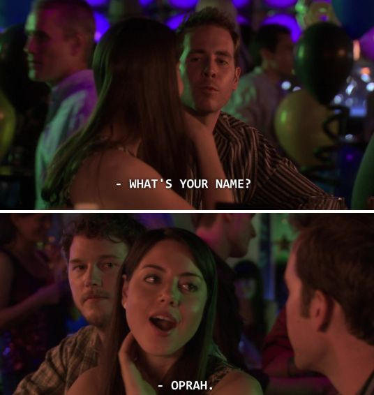 Time is money, money is power, power is pizza, and pizza is knowledge. April Ludgate is my hero!