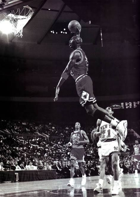 Michael Jordan MJ Basketball Star Wall Poster