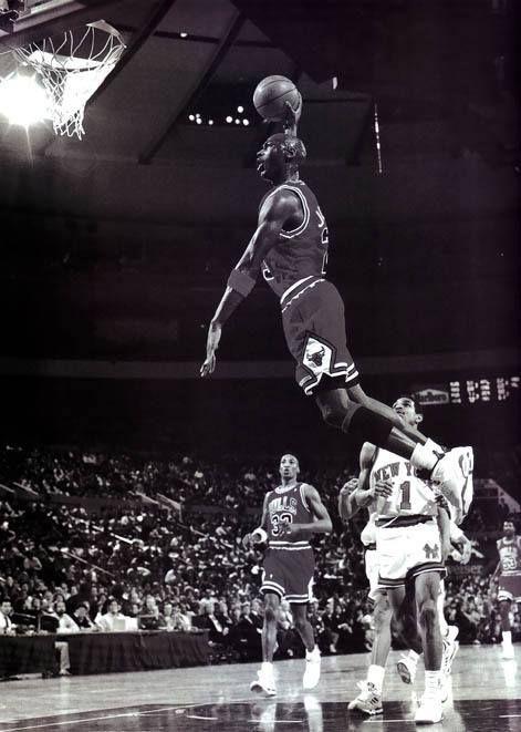 Michael Jordan MJ Basketball Star Wall Poster