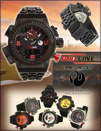 FERI Red Line Sports watch.