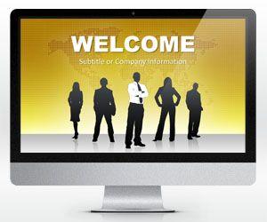 Plantilla PowerPoint de Liderazgo es un diseño de PowerPoint gratis para presentaciones de liderazgo en la empresa u organización que se puede utilizar en proyección widescreen o proyectores de pantalla alargada con formato 16:9