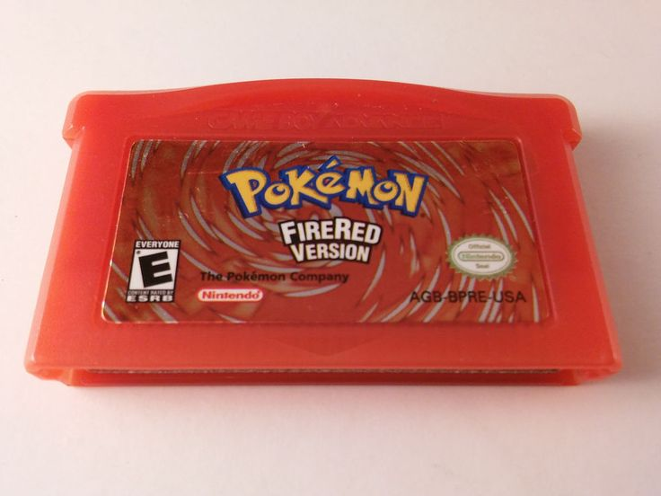 Pokemon FireRed Version Nintendo Game Boy Advance, 2004 TESTED - FREE SHIPPING!
