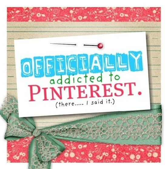 Officially addicted to Pinterest!