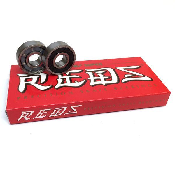 Bones Bearings Bones Super REDS Skate Rated Skateboard Bearings - now available at Warehouse Skateboards! #wskate #skateboarding